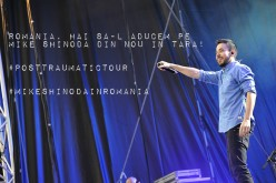 MIKE SHINODA vrea să revină în ROMÂNIA cu POST TRAUMATIC TOUR