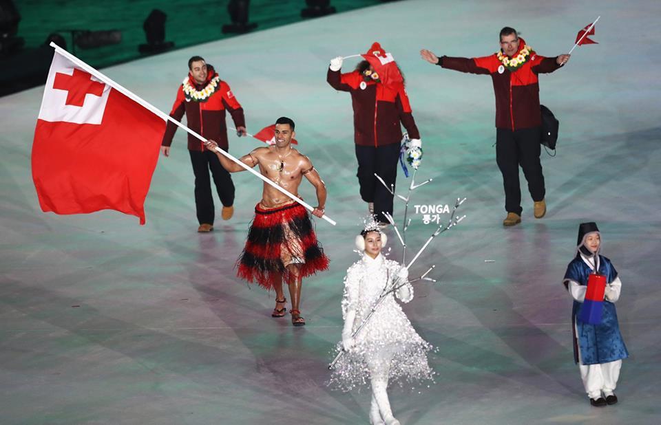 Pita Taufatofua - olimpiada