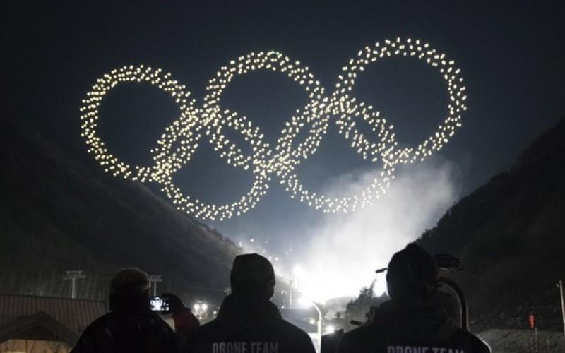 ULUITOR. Peste 1200 de drone au creat cercurile olimpice la ceremonia de deschidere a Olimpiadei de la PyeongChang