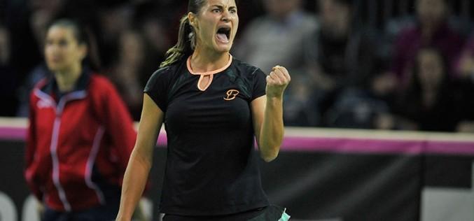 Monica Niculescu încă o victorie fabuloasă la Doha. În optimi joacă cu liderul mondial, Caroline Wozniacki
