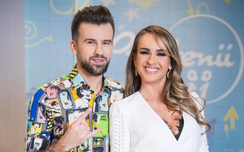 Petrecere de tăiere a moțului pentru Diana Munteanu și Florin Ristei