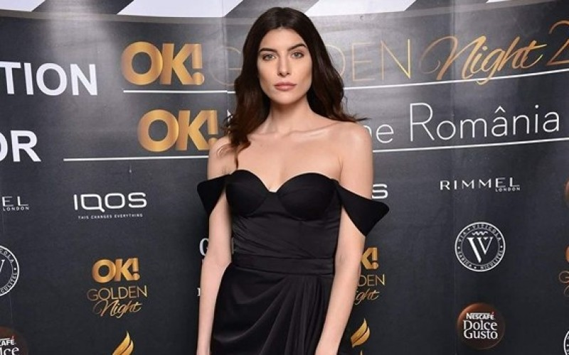 Fata lui Mădălin Voicu, în centru atenției toată seara. Ioana Voicu, super sexy într-o rochie crăpată!