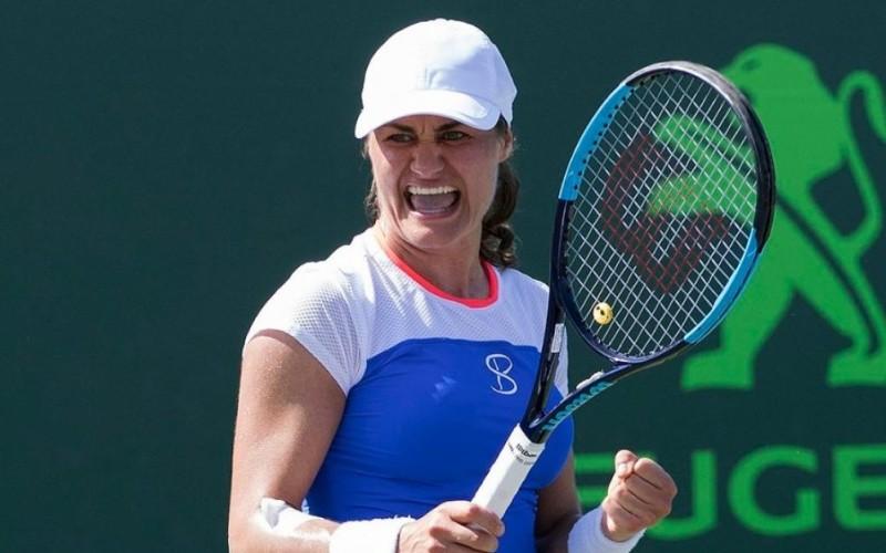 Monica Niculescu, victorie fabuloasă la Miami. A învins-o pe Gabrine Muguruza