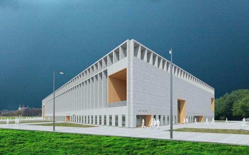 Cel mai mic oraş din ţară care va avea o Sală Polivalentă ultra modernă!