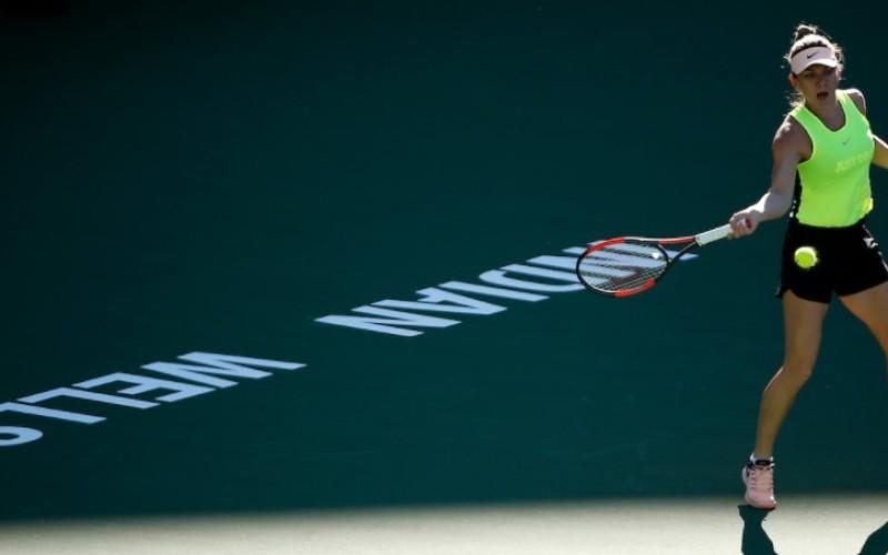 Simona Halep, victorie superbă la India Wells. A spulberat-o pe Pliskova!