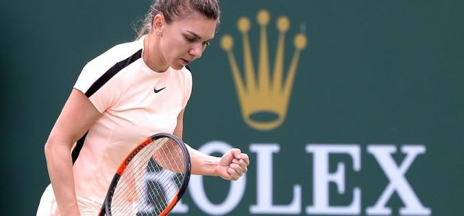 Simona Halep, calificare superbă în sferturi de finală la Indian Wells