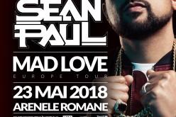 Superstarul Sean Paul se oprește și în România. Va concerta la Arenele Romane!