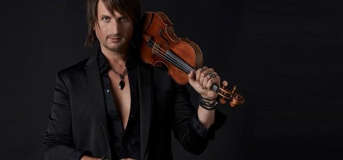 Edvin Marton va cânta la Bucureşti la o vioară evaluată la 7 milioane de dolari
