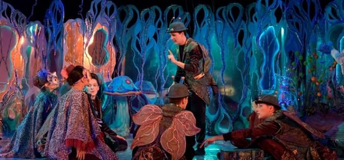 Spectacolul Lampio, produs de Teatrul Stela Popescu, revine la Palatul Copiilor