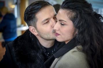 """Liviu Vârciu și Doinița Oancea, primul sărut în """"Fructul oprit"""""""