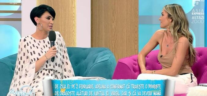 """Adelina Pestrițu, dezvăluiri despre sarcină: """"Sper să mă ajute și organismul, nu pot controla chiar totul"""""""