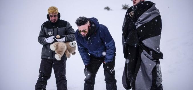 """Bendeac, filmări la minus 20 de grade Celsius pentru serialul """"Băieți de oraș"""""""