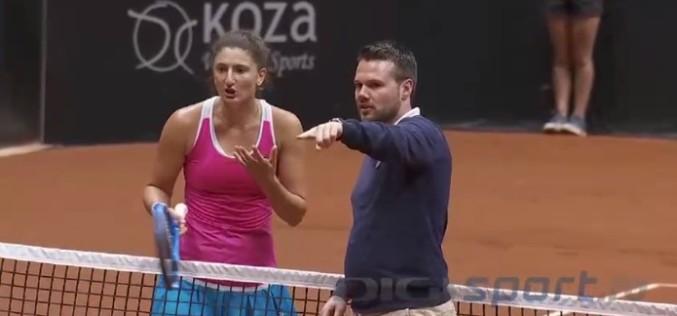 Irina Begu, criză de nervi în direct la turneul de la Istanbul. Iată din ce motiv s-a enervat românca!