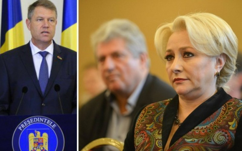 Criză politică de proporţii între Preşedinte şi Guvern. Iohannis refuză remanierea a trei miniştri