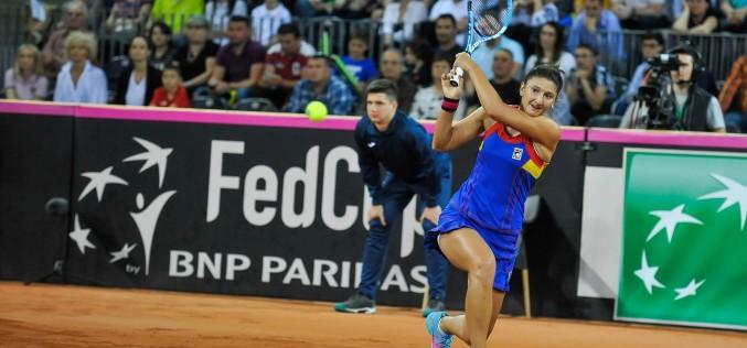 Irina Begu a învins-o pe Timea Bacsinszky şi România conduce Elveţia cu 2-0 în Fed Cup