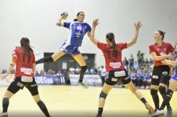 SCM Craiova a pierdut turul finalei EHF jucat cu Kristiansand Vipers. Oltencele joacă returul în Bănie, cu trofeul pe masă