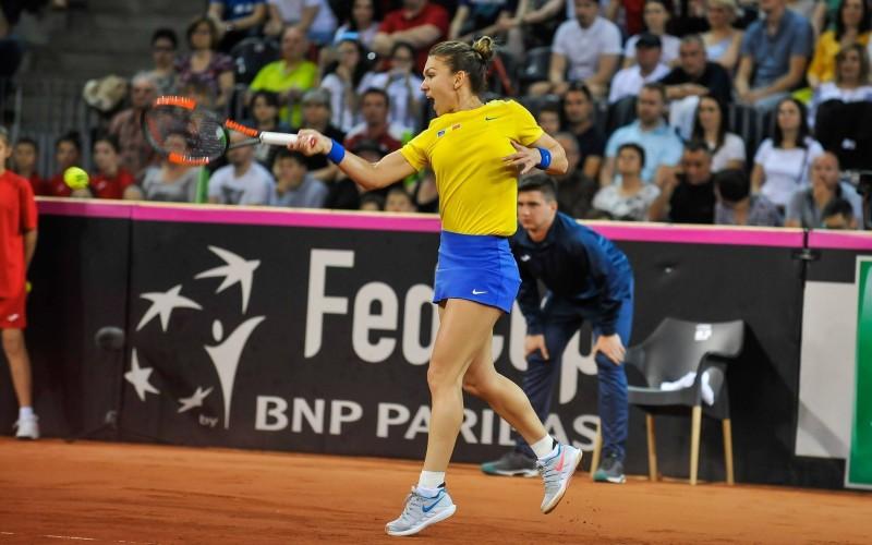 Simona Halep, probleme la un picior după meciul din Fed Cup!