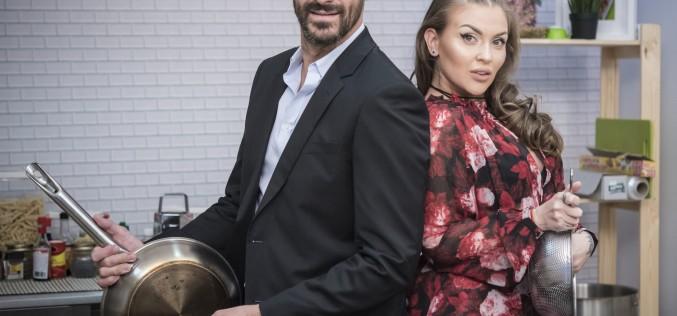 """Oana Radu, noua colegă de prezentare a lui Nicolai Tand la """"Star Chef"""""""