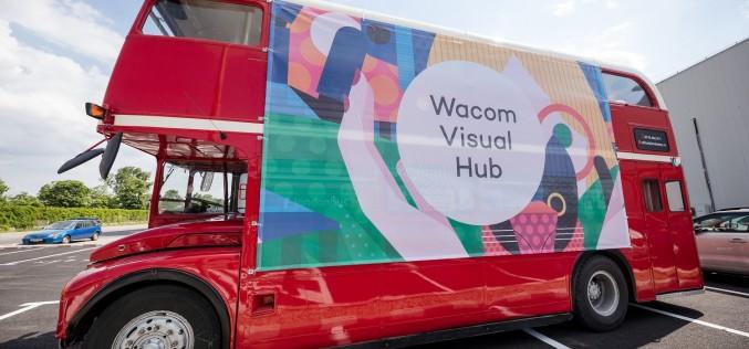 Wacom Visual Hub, primul autobuz dedicat creativilor, parchează la Bucharest Technology Week