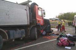 Carnagiu în Ungaria. Nouă români au murit într-un cumplit accident rutier