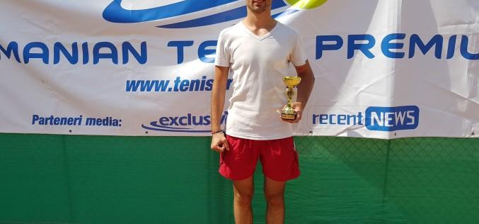Adrian Moroşan, la primul său succes în circuitul RTP. A câştigat turneul RTP Open Tenis 2018