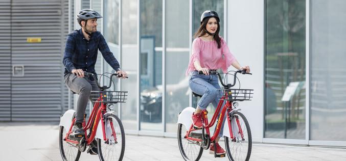Pegas a lansat cel mai inovator sistem de bike sharing din România
