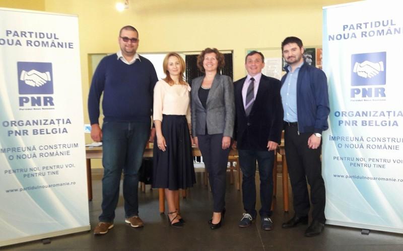 Două femei şi trei bărbaţi vor conduce Organizţia PNR Belgia