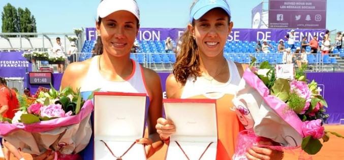 Mihaela Buzărnescu și Raluca Olaru au cucerit turneul de dublu de la Strasbourg