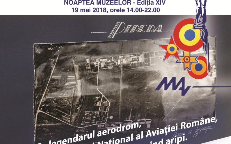 Opt ore de spectacol unic la Muzeul Naţional al Aviaţiei