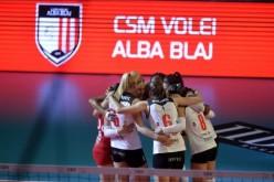 Alba Blaj, calificare istorică în finala Ligii Campionilor la volei feminin