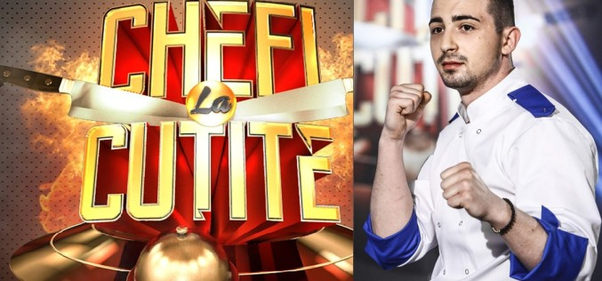 Bogdan Vandici a câştigat sezonul cinci al concursului culinar Chefi la cuțite