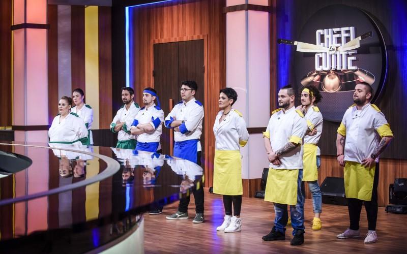"""Gustul copilăriei devine prima provocare culinară a semifinalei """"Chefi la cuțite"""""""