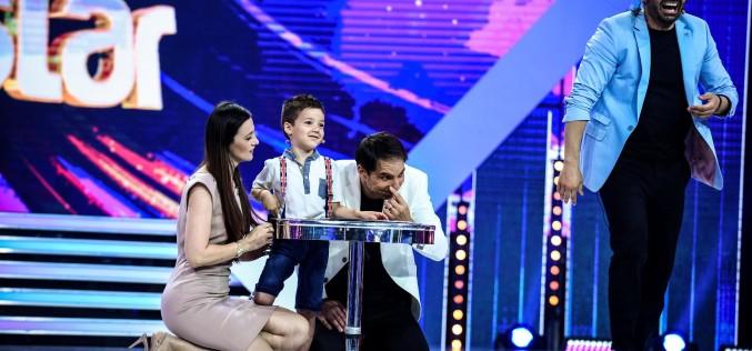 Un copil genial îi uimește pe jurații Next Star: Lidia Buble, Pepe și Dorian Popa