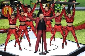 Gest şocant făcut de Robbie Williams la ceremonia de deschidere a Mondialului din Rusia