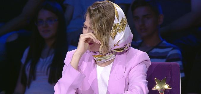 Lidia Buble nu se mai poate opri din plâns la Next Star din cauza unei concurente