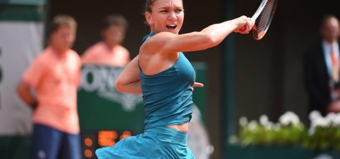 Simona Halep, victorie uriaşă. E din nou în finală la Roland Garros. A umilit-o pe Muguruza