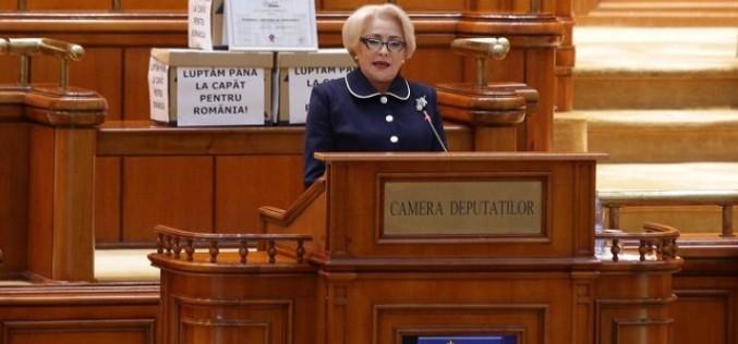 Moţiunea de cenzură iniţiată de Opoziţie la adresa Guvernului Dăncilă, respinsă de Parlament