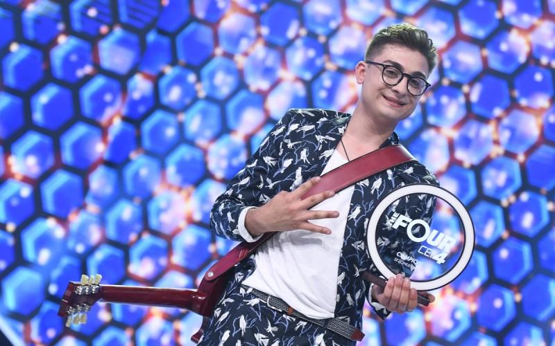 """Vlad Musta a câştigat prima ediţie a concursului """"The Four – Cei 4""""!"""