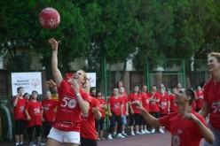 Trei campioane olimpice și campionii Special Olympics, meci demonstrativ pe terenul de baschet