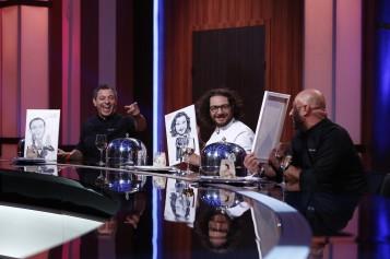 """Bontea, Dumitrescu și Scărlătescu, cadouri inedite din partea concurenților """"Chefi la cuțite"""""""