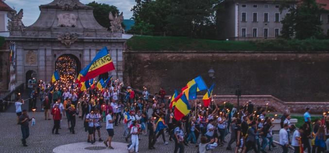 Marşul Centenarului a început la Alba Iulia
