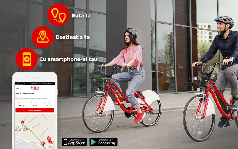 """Bicicletele Pegas, închiriate prin sistemul Ape Rider, au """"lipici"""" la hoţi"""
