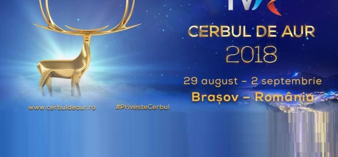 Iată cine va prezenta Festivalul Internaţional Cerbul de Aur 2018
