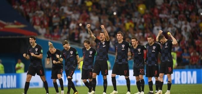 Croaţia, victorie uriaşă la Mondiale. A învins Rusia pe teren propriu şi merge în semifinale