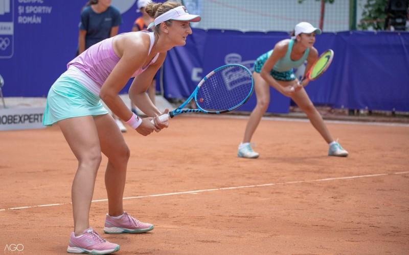 Irina Begu şi Andreea Mitu au câştigat turneul de dublu de la BRD Bucharest Open 2018