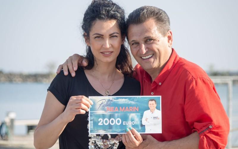"""Nicoleta Luciu, câștigătoarea primei ediții a reality show-ului """"Poftiți la Nea Mărin"""""""