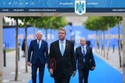 Oamenii lui Iohannis au trucat o foto ca să-l scoată din cadru pe Ministrul Apărării