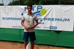 Sebastian Radu Popa a debutat cu succes în circuitul RTP. A cucerit turneul RTP Tenis Cup 2018