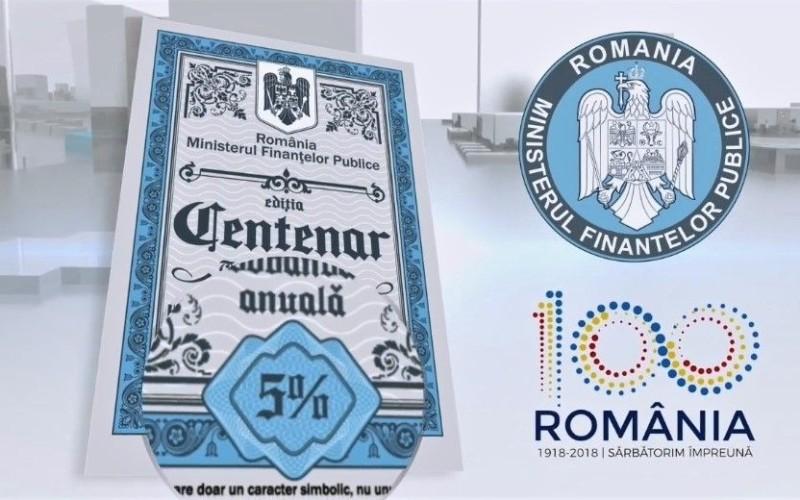 Românii au cumărat titluri de stat cu ediţia CENTENAR în valoare de  786 de milioane de lei