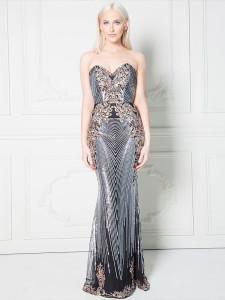 Rochie lunga eleganta Sophie rochii online revelion ocazie dama 4